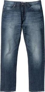 Białe jeansy bonprix john baner jeanswear bez wzorów