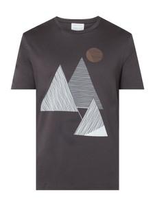 T-shirt ARMEDANGELS z nadrukiem z bawełny