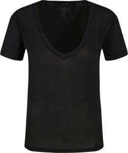 Czarny t-shirt Calvin Klein Underwear z krótkim rękawem