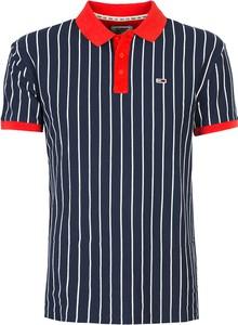 Niebieska koszulka polo ubierzsie.com z bawełny