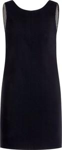 Czarna sukienka Elisabetta Franchi bez rękawów