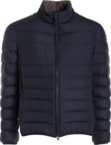 Niebieska kurtka Brioni w stylu casual krótka