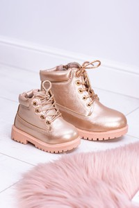 Różowe buty dziecięce zimowe BUTOSKLEP.PL
