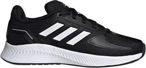 Buty sportowe Adidas z tkaniny z płaską podeszwą
