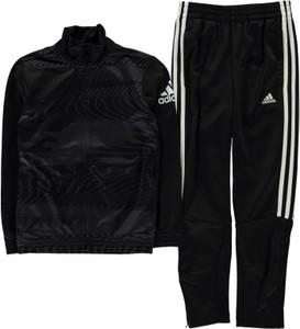 Czarne body niemowlęce Adidas