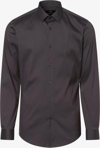 Brązowa koszula Hugo Boss z długim rękawem