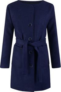 Płaszcz POLSKA w stylu klasycznym z wełny