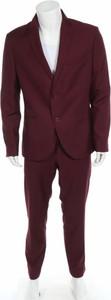 Czerwony garnitur Isaac Dewhirst