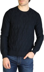 Czarny sweter Armani Exchange
