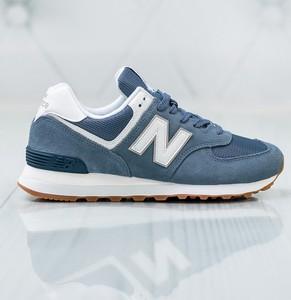 Buty sportowe New Balance w sportowym stylu z płaską podeszwą 574