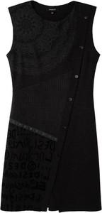 Sukienka Desigual mini z długim rękawem