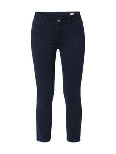 Granatowe jeansy Christian Berg Women w stylu casual z bawełny