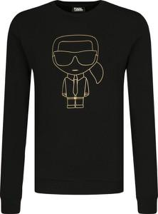 Bluza Karl Lagerfeld w młodzieżowym stylu z nadrukiem