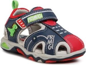 Granatowe buty dziecięce letnie Primigi
