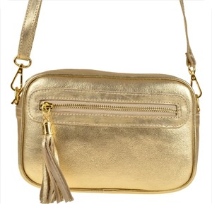 Złota torebka Borse in Pelle