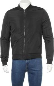Czarna kurtka Common Kollectiv krótka w stylu casual