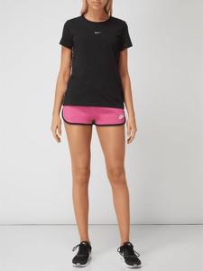 Różowe szorty Nike z dzianiny