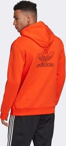 Pomarańczowa bluza Adidas Originals w sportowym stylu