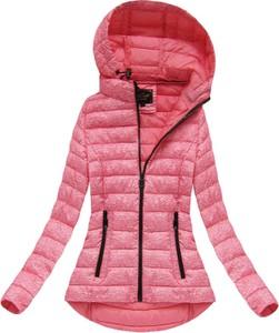 Różowa kurtka libland
