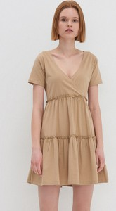 Sukienka House mini z dekoltem w kształcie litery v