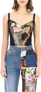 Top Dolce & Gabbana z okrągłym dekoltem