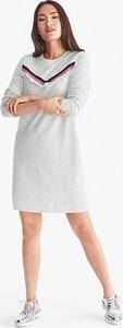 Sukienka YESSICA z długim rękawem ołówkowa z bawełny