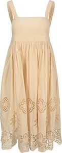 Sukienka SEE BY CHLOE mini z dekoltem w kształcie litery v na ramiączkach