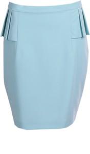 Zielona spódnica Fokus w stylu klasycznym mini