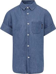 Granatowa koszula dziecięca Neil Barrett