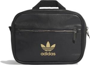 Czarna torba Adidas ze skóry