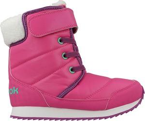 Różowe buty dziecięce zimowe reebok
