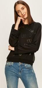 Bluza Liu-Jo z dzianiny w młodzieżowym stylu krótka