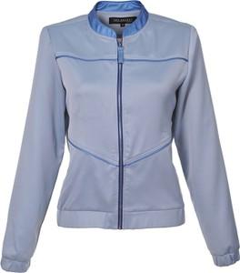 Niebieska kurtka Top Secret krótka w stylu casual