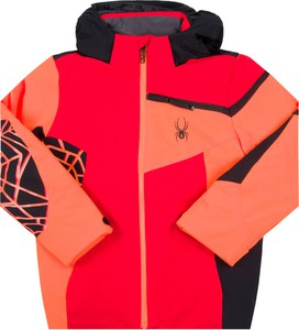 Czerwona kurtka dziecięca Spyder