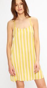 Żółta piżama DKNY