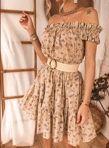 Sukienka SELFIEROOM mini z bawełny rozkloszowana