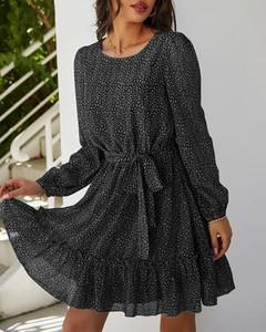 Sukienka Kendallme z okrągłym dekoltem w stylu casual