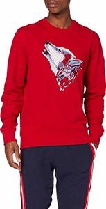Czerwona bluza amazon.de