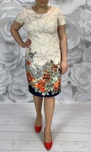 Sukienka Dorota w stylu casual midi