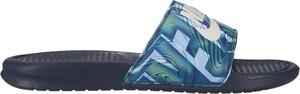 Niebieskie buty letnie męskie Nike w sportowym stylu