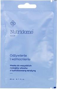 Nutridome Maska do włosów szorstkich i sztywnych z olejem macadamia