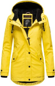 Żółta kurtka Marikoo długa