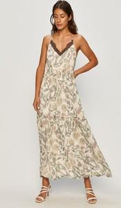 Sukienka Vero Moda z tkaniny maxi w stylu boho