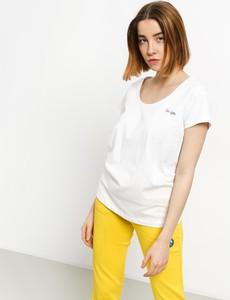 T-shirt Femi Stories z bawełny z okrągłym dekoltem