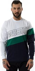 Koszulka z długim rękawem Prosto Klasyk z bawełny z długim rękawem w młodzieżowym stylu