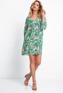 Sukienka Fobya mini z długim rękawem