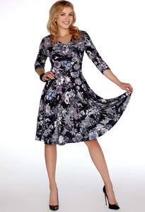 Sukienka MERRIBEL z bawełny z okrągłym dekoltem