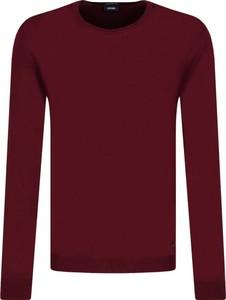 Czerwony sweter Joop! Collection z wełny