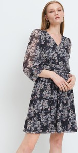 Sukienka Mohito mini z długim rękawem kopertowa