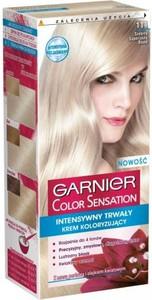 Garnier Color Sensation krem do każdego typu włosów koloryzujący 111 srebrny superjasny blond 110 ml